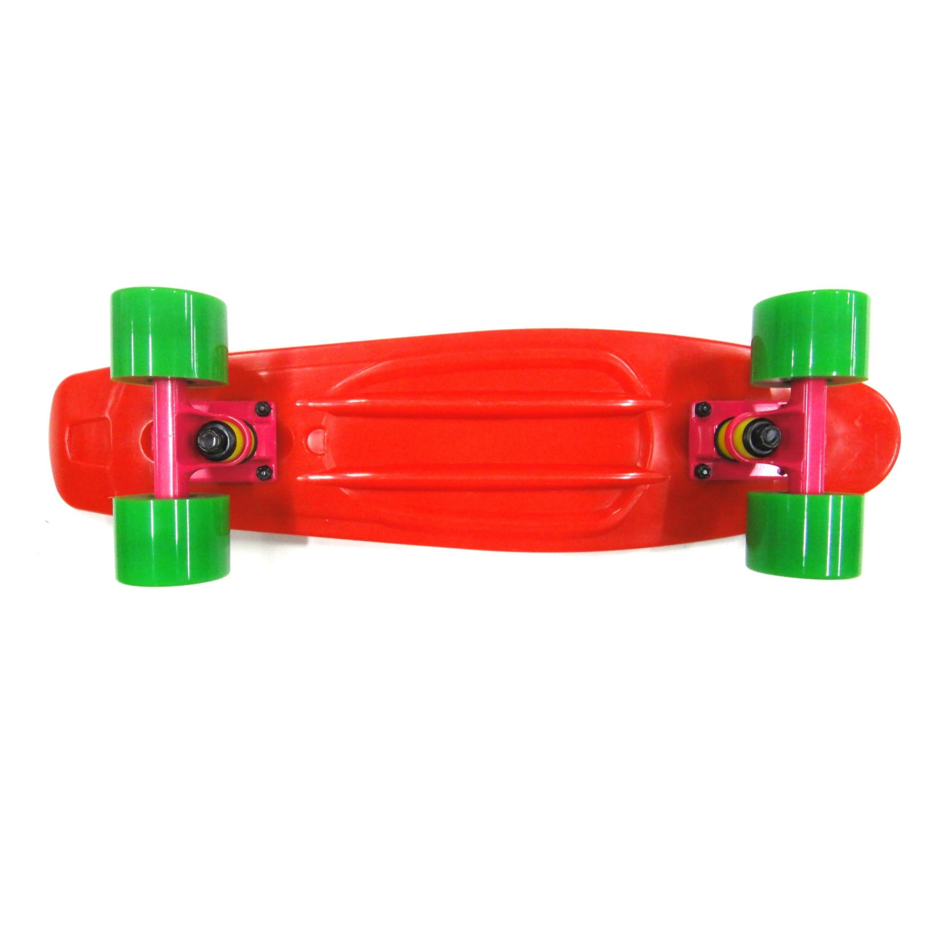 Manufacturers Supply Children's Skateboard Fish Skateboard Retro Color Skateboard Streamlined Exclusive For Children Skateboard