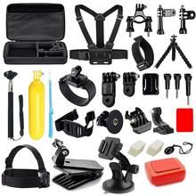 Camera Accessories Kit for GoPro Hero 6 5 4 3+ Session Accessory Bundle Set for Action Camera SJ4000 SJ5000 SJ6000 Xiaomi Yi-Flo(China)