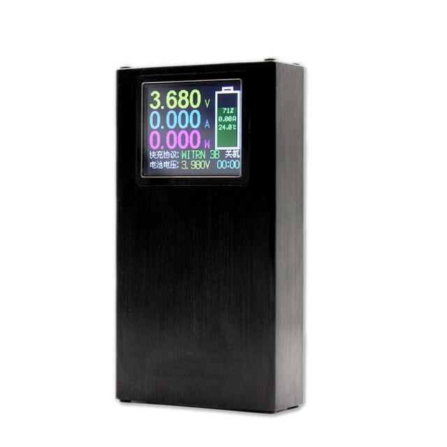 DIY כוח בנק 10000mah 18650 סוללה LED Bluetooth APP תשלום מהיר PD נייד כוח מטען רב פרוטוקול אלחוטי PPS QC2 QC4 +