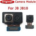 Оригинальная передняя и задняя камера для Samsung Galaxy J8 J810 модуль основной фронтальной камеры запасные части