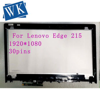 15.6'' LCD Assembly Touch Screen Digitizer+Frame NV156FHM-A13 NV156FHM-N42 LP156WF6(SP)(K6) For Lenovo Edge 215
