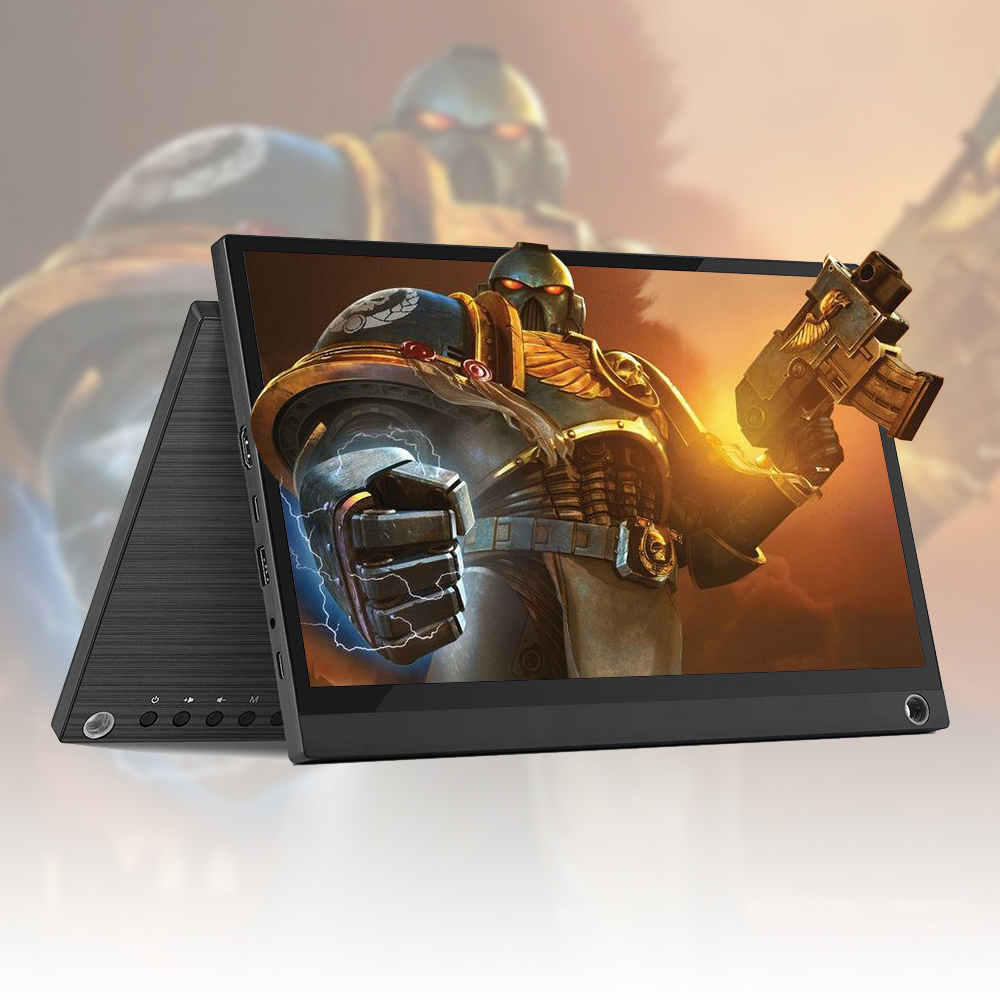 Arealer Touch Screen Tragbare Monitor 12,5 ''LED-Monitor HD 1080P Expansion Bildschirm Tragbare Monitor für Schalter/PS4 /XBOX/Laptop