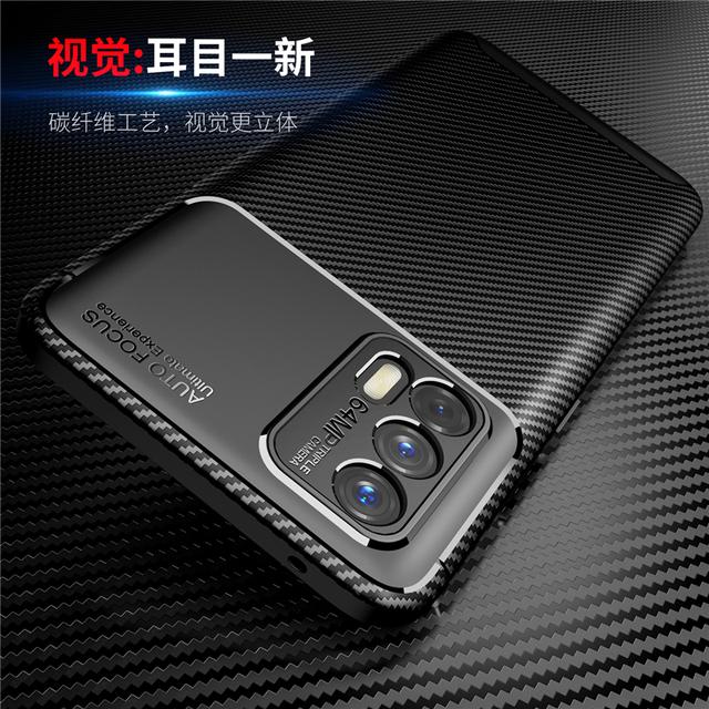For OPPO Realme GT Case Rubber Silicone Carbon Silm Funda Protective Soft Phone Case For Realme GT Neo Cover For Realme GT Flash