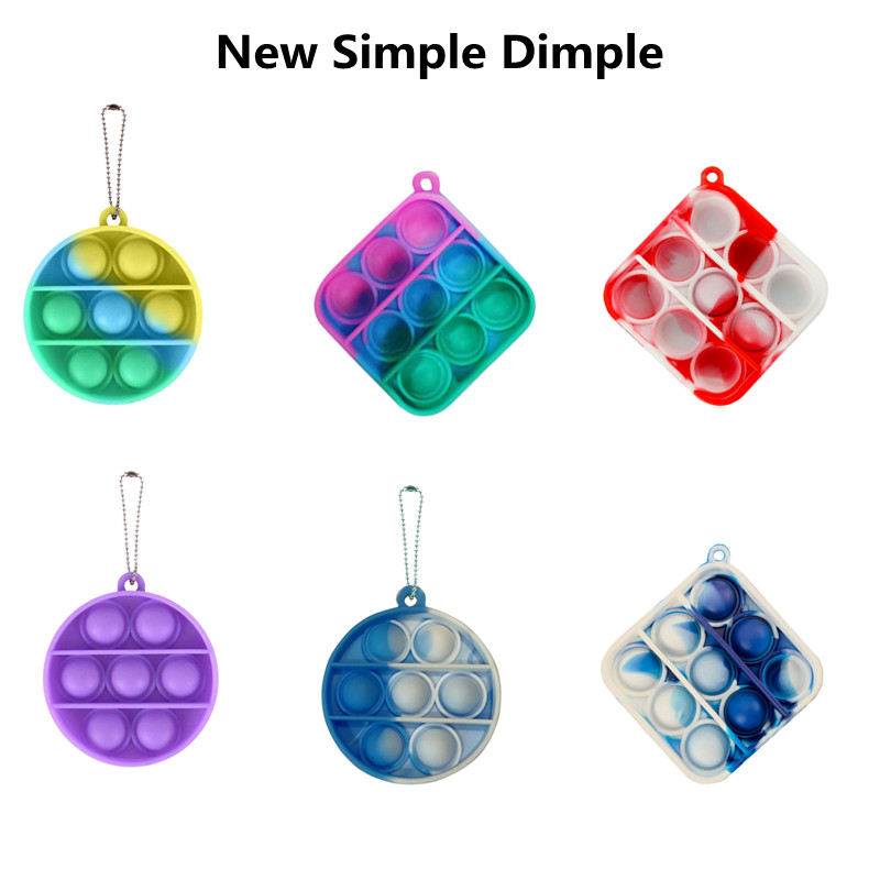 Toy Kids Anti-Stress-Board Fitget-Toy Autism Fidgets Office-Controller Mini Pop Simpel Dimpel img1