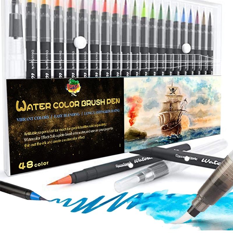 Watercolor Brush Pen Non-Toxic WaterColor Marker