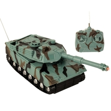 Controlled-Tank Rc Military-Toy Tank-On-The-Radio-Control-Radio Ce for Children 1:22