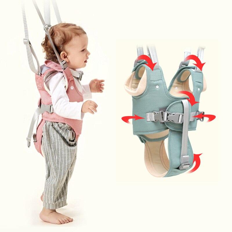 Nouveau-né bébé marche harnais sac à dos laisses pour petits enfants enfants Assistant apprentissage sécurité rênes harnais Walker