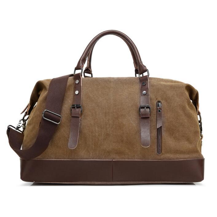 2019 New Design Men's Casual Travel Bag Canvas Luggage Bag Leisure Single Shoulder Bag Messenger Travel Bags
