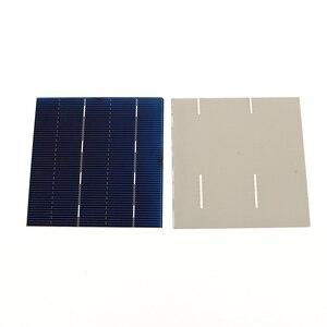 Image 2 - 50 قطعة الخلايا الشمسية 2.1A 1.05 واط 78*77 ملليمتر لتقوم بها بنفسك الشمسية شاحن بطارية لوحة طاقة شمسية لوحة طاقة شمسية لتقوم بها بنفسك الكريستالات وحدة سخان شمسي