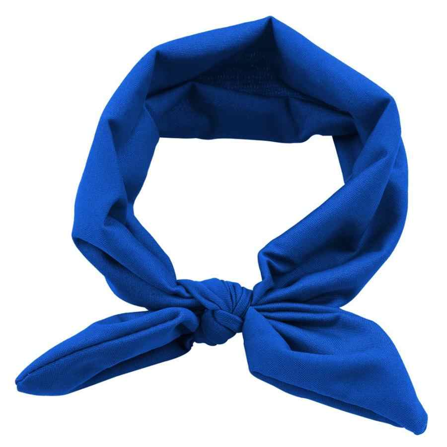 Bathing Elastic Bow Knot Baby Infant Toddler Headband Hair Band Wrap Accessory Photography Prop Swimming Pool