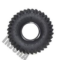 "4PCS 120MM 1.9"" Rubber Rocks Tyres / Wheel Tires for 1:10 RC Rock Crawler Axial SCX10 90046 AXI03007 D90 D110 TF2 Traxxas TRX-4 4"