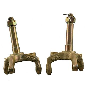 Left & Right Front Wheel Steering Knuckle Spindle for 70cc 110cc 125cc ATV Quad