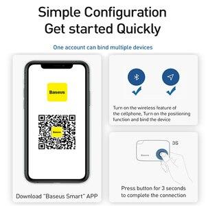 Image 5 - Baseus Mini GPS Tracker Anti Lost Bluetooth Tracker For Pet Dog Cat Key Phones Kids Anti Loss Alarm Smart Tag Key Finder Locator