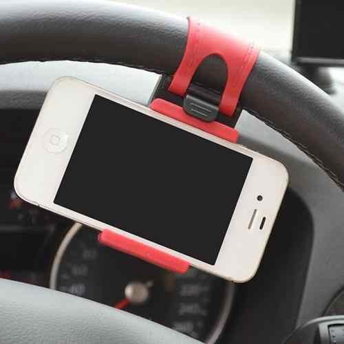 العالمي سيارة قوس السيارات سيارة المقود جبل حامل شريط مطاطي آيفون الهاتف الذكي لتحديد المواقع حامل جديد hot البيع