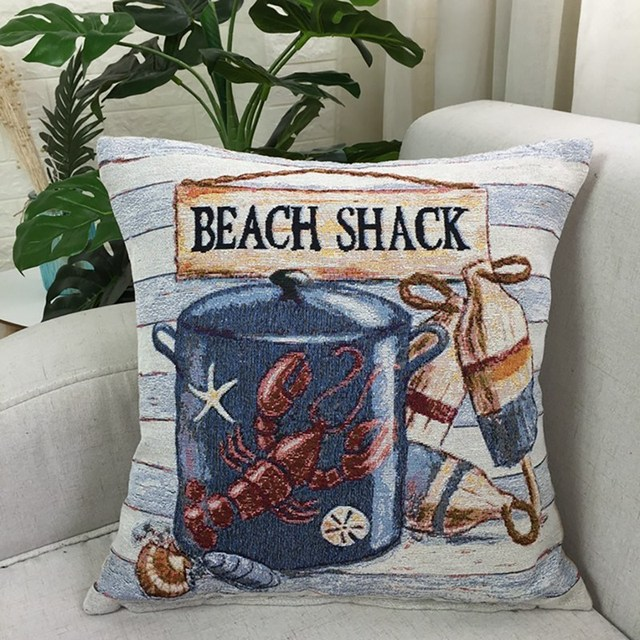 Beach House cushion Cover 5