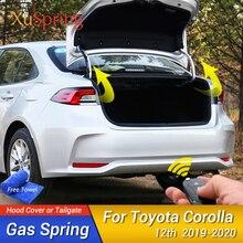 Für Toyota Corolla 2018 2020 12th E210 Limousine Vorderen Haube Haube Ändern Gas Streben Lift Unterstützung Schock Dämpfer Zubehör absorber