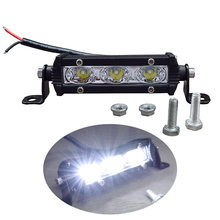 Światła samochodowe LED światło robocze 9W Super żarówka reflektor motocyklowy ciężarówka boczny znak światła 4x4 podświetlacz 12V 24V