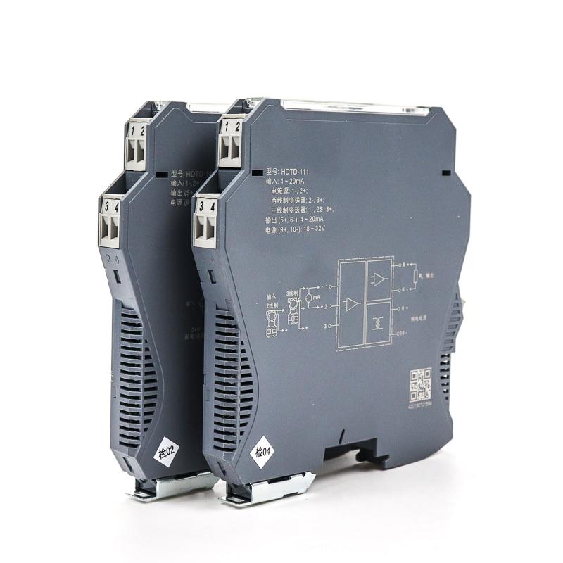 1 en 2 salida Din-rail 4-20ma convertidor de señal analógica aislador de señal de voltaje de corriente tecnología de aislamiento electromagnético 4-Canal Digital transceptor óptico video-fibra de modo único convertidor de fibra óptica FC 20KM