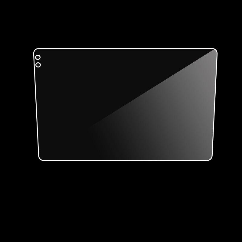 229*129*217 мм автомобиля защитная пленка из закаленного стекла автомобиля Стикеры для Теда CC3 9 дюймов Радио Стерео DVD GPS сенсорный экран полная Ж...