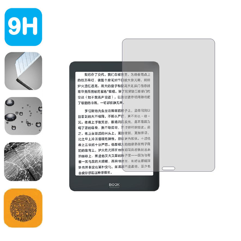 9H Tempered Glass LCD Shield Film Screen Protector For Onyx BOOX Nova Pro 7.8 Inch EReader Tablet Accessories