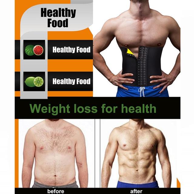 2020 Body Shaper Waist Trainer Slimming Shapewear Men Neoprene Sauan Sweat Weight Loss Belt Gym Fitness Modeling Strap Corset 4