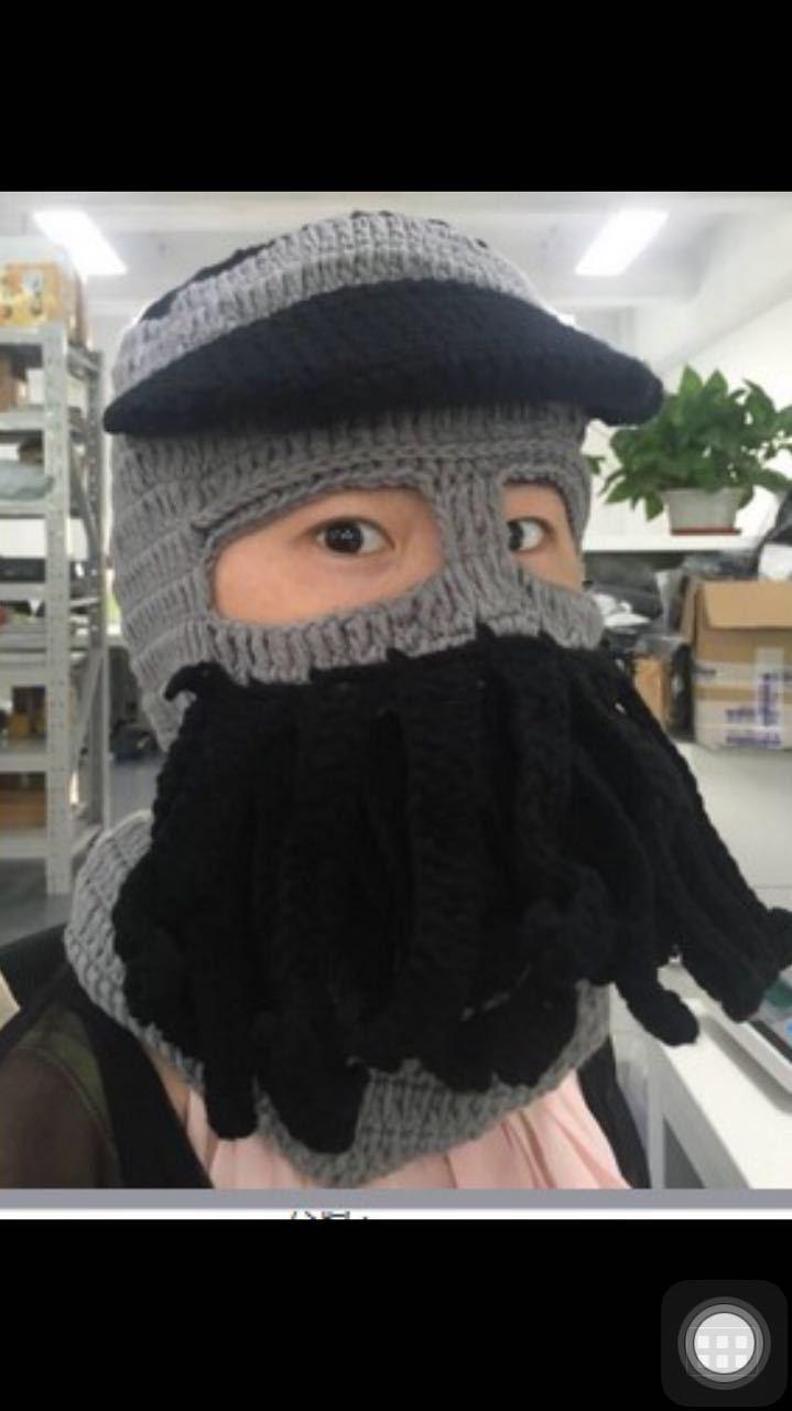 chapeau cool Crochet à la main, Bonnet tricoté d'hiver