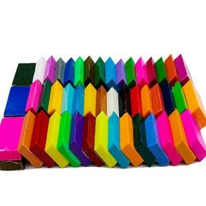 Image 4 - 50 Kleuren Polymer Clay Licht Zachte Klei Diy Zachte Molding Craft Oven Bakken Klei Blokken Verjaardagscadeau Voor Kinderen Volwassen veilige Kleurrijke CE gecertificeerd
