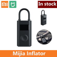 Xiaomi mijia inflator portátil built in bateria multi bocal de monitoramento digital compressor pneu para casa inteligente bicicleta