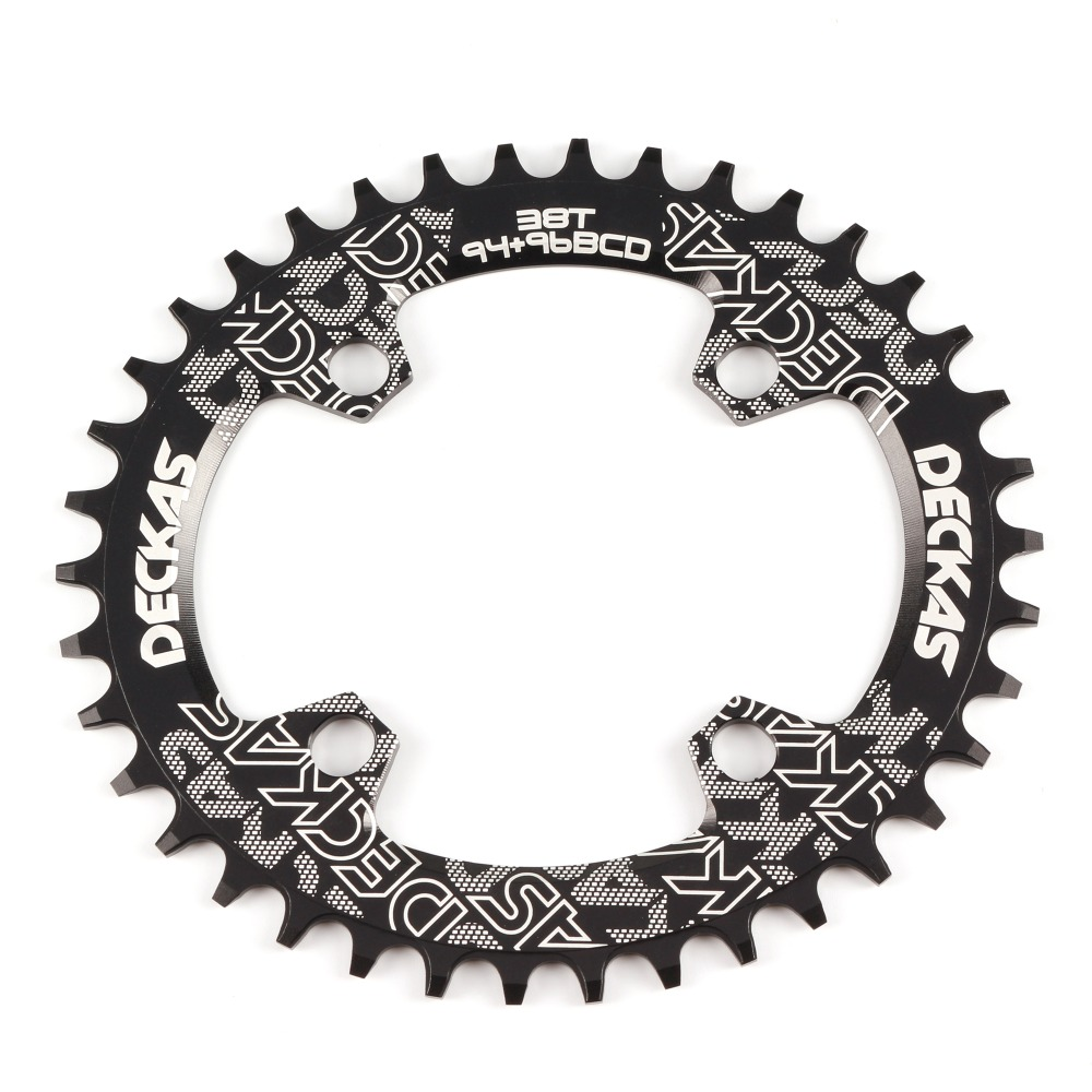 Купить с кэшбэком DECKAS 94 + 96 BCD fiets kettingwiel 32T 34T 36T 38T mtb Kettingblad mountain Kroon ronde Ovale voor M4000 M4050 GX NX X1 Crank