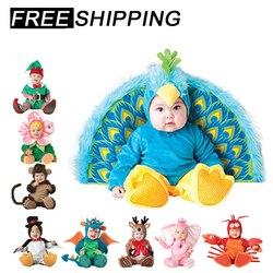 Fantasia infantil de 2019, conjunto de roupas de bebê para meninos e meninas, macacão polar, urso, conjunto de roupas para crianças, meias de chapéu da criança