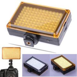 96 Светодиодный ных ламп для видеосъемки 3200K/5500K на камере, освещение для фотостудии, заполнясветильник свет Горячий башмак для DSLR-камеры, лам...