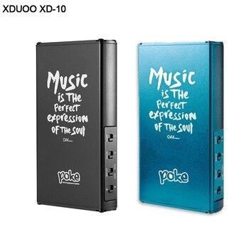 AMPLIFICADOR DE AURICULARES portátil de bolsillo de alta fidelidad XDUOO XD-10 DAC AK4490 soporta DSD256 32 bits/384KHz DXD PCM