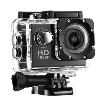 HOT-EV5000 Action Camera, 12MP 500W Pixels 2 Inch LCD Sn, Waterproof Sports Cam 120 Degree Wide Angle Lens, 30M Sport Camera - discount item  25% OFF Camera & Photo