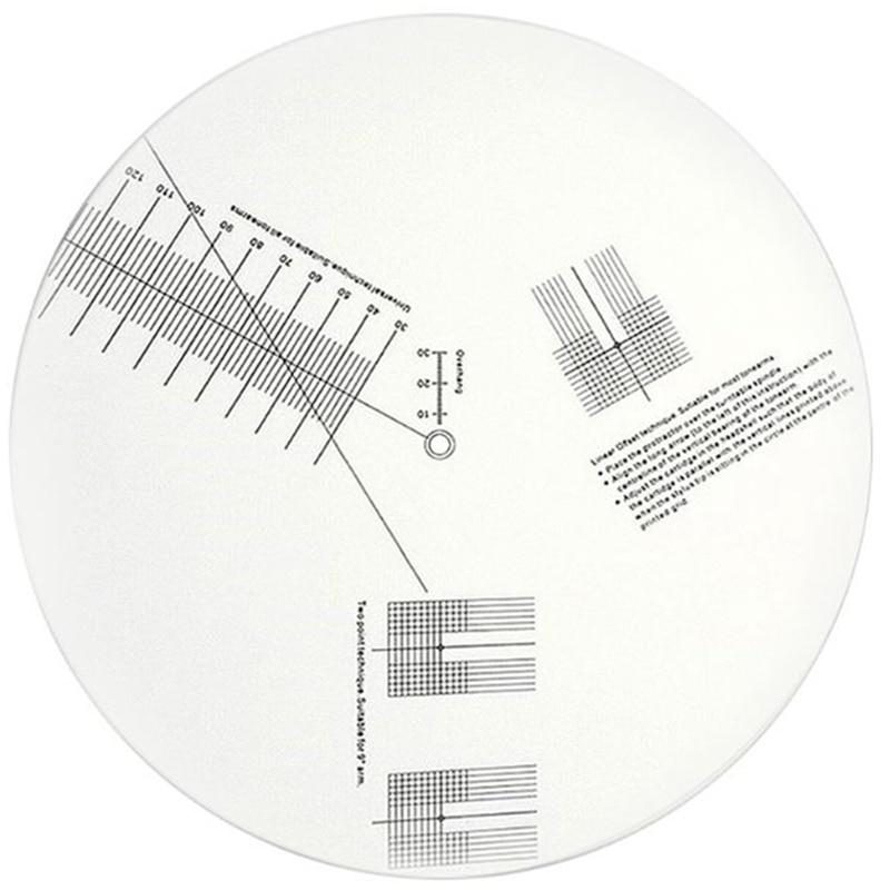 Анти скользящая LP виниловая запись пикапа Калибровочная пластина измеритель угломер Регулировочный инструмент линейка для поворотного стола|Виниловые проигрыватели|   | АлиЭкспресс