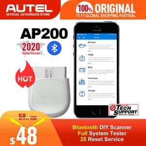 Image 1 - Autel AP200 bluetooth OBD2スキャナーコードリーダーフルシステム診断ツール診断スキャナpk MK808 easydiag 3.0 thinkdiag