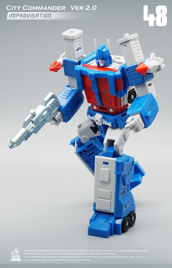 Image 4 - MFT Transformation MF 48 MF48 Ultra Magnus UM Ver2.0 City Commander Action FIgure Robot Toys-in Action & Toy Figures from Toys & Hobbies
