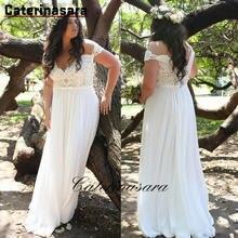 Кружевные женские свадебные платья с коротким рукавом а силуэт