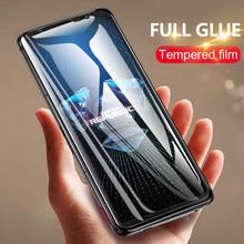 Schutz glas für Asus zenfone 7 pro 6 6z 5 8 flip Screen protector gehärtetem film für rog telefon 5 3 2 glas ZS670 ZS671KS
