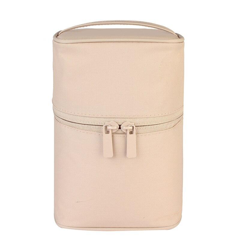 Zipper Man Women Makeup Bag Nylon Cosmetic Bag Beauty Case Make Up Organizer Toiletry Bag Kits Storage Travel Wash Pouch Pink