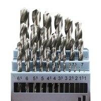 20 個 0.3 〜 1.6 ミリメートルチタンコーティングされたツイストドリルビット HSS 木工工具セットプロフェッショナル掘削ツール高品質|ドリルビット|ツール -