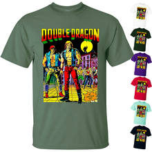 Spel: Double Dragon V1 Yoshihisa Kishimoto 1987 T-shirt (Wit) Alle Maten S-5XL(China)