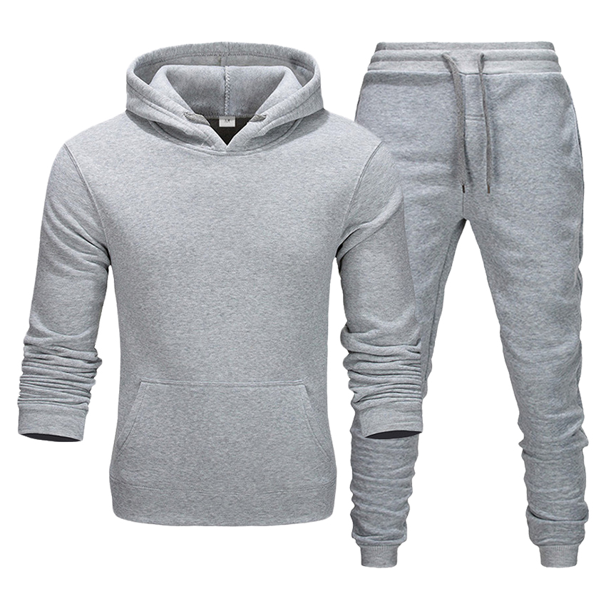 Hoodie + Pants Men And Women Suit Autumn And Winter Long-sleeved Boutique Two-piece Suit Sweatshirt Sweater Pants
