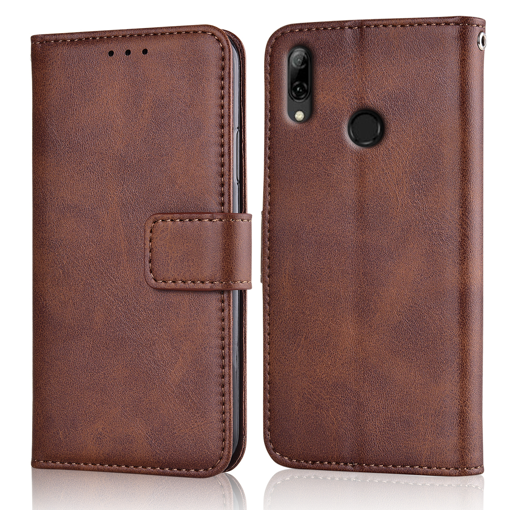 Flip Leather Wallet Case for On Huawei Y7 2019 DUB-LX1 DUB LX1 Case Y7 2019 Back Cover For Huawei Y7 Prime 2019 Case image