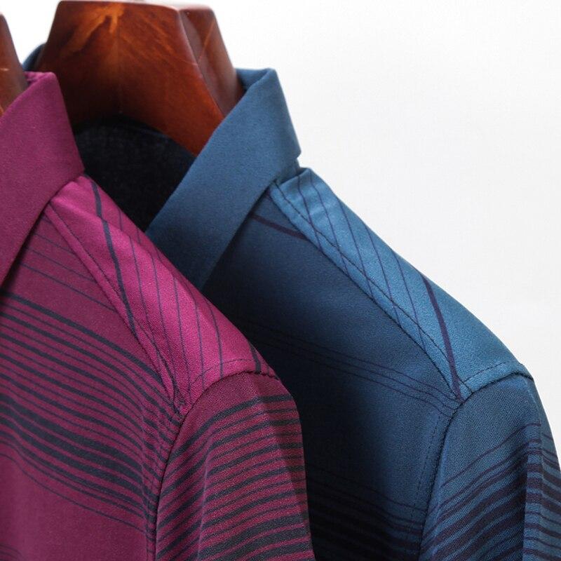 2020 Brand Casual Summer Striped Short Sleeve Polo Shirt Men Poloshirt Jersey Luxury Mens Polos Tee Shirts Dress Fashions 50548 3