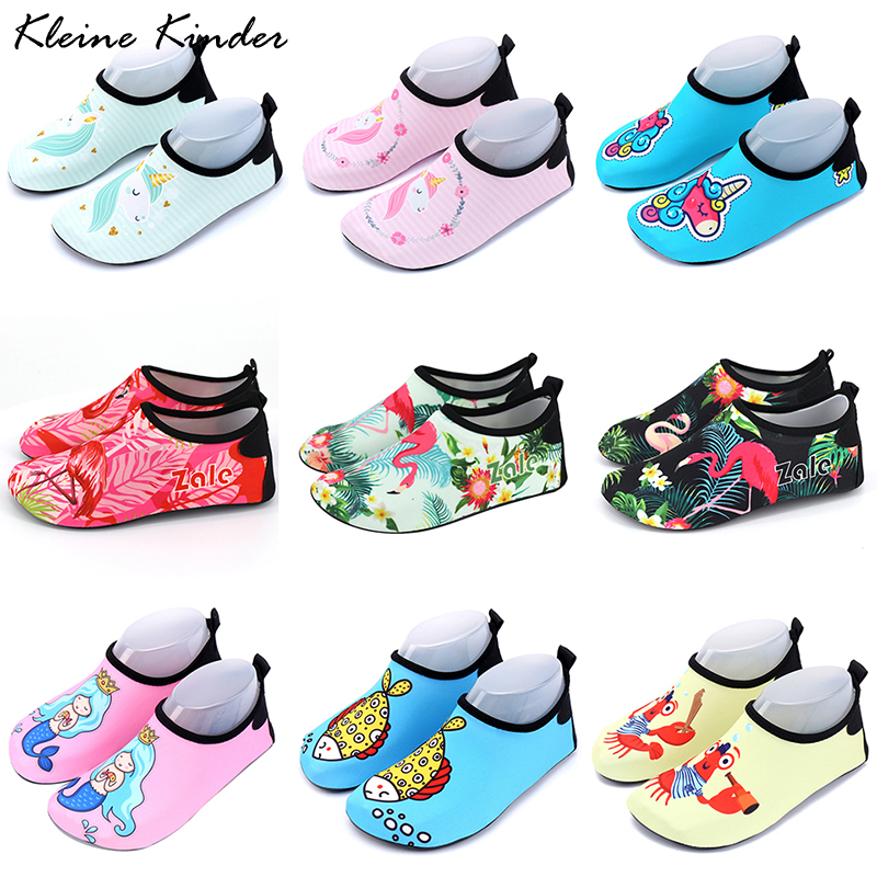 Children Sneakers Swimming Shoes Quick Drying Aqua Shoe Boys Girls Outdoor  Wading Surf Water Shoes Sea Pool Beach Kids Slippers|Slippers| - AliExpress