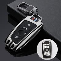 Car Key Case Cover FOB Key Chain For BMW 520 525 f30 f10 F18 118i 320i 1 3 5 7Series X3 X4 M3 M4 M5 E34 E36 E90 Car Styling