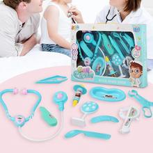 Role Play Child Doctor Play House Toy Box Nurse Pretend Play Set Baby Medical Tool Kit Boxes Classic Toys Mini Doctor Kits Toys