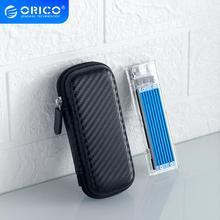 ORICO M.2 жесткий диск EVA портативный жесткий диск хранилище защита сумка для внешнего M.2 жесткий диск% 2FEarphone% 2FData Line HDD чехол