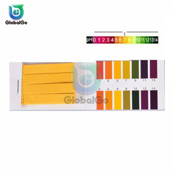 80 Strips PH Test Strips Full PH Meter PH Controller 1-14st Indicator Litmus Paper Water Soilsting Kit image