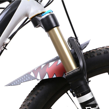 1 Pair Bicycle Fenders Front/Rear Colorful Carbon Fiber Mudguard MTB Mountain Bike Cycling Fix Gear Accessories